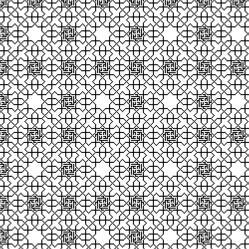 scroll wallpaper. Wallpaper pattern from the